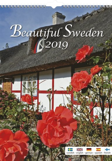 Väggkalender 2019 Beautiful Sweden