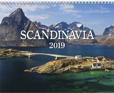 Väggkalender 2019 Scandinavia