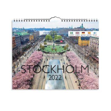 Väggkalender 2022 Stockholm  1