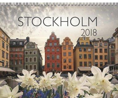 Väggkalender 2018 Stockholm 1