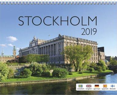 Väggkalender 2019 Stockholm 1