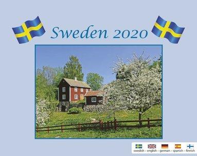 Väggkalender 2020 Sweden med kuvert 1