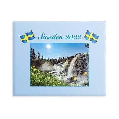 Väggkalender 2022 Sweden med kuvert  1