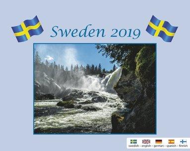 Väggkalender 2019 Sweden med kuvert 1