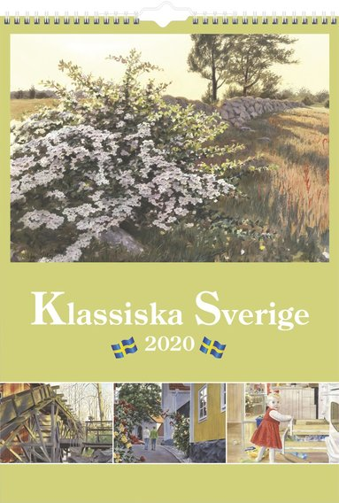 Väggkalender 2020 Klassiska Sverige 1