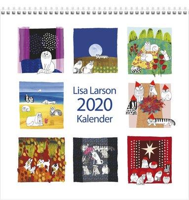 Väggkalender 2020 Lisa Larson 1