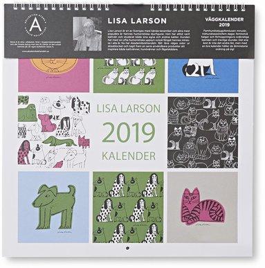 Väggkalender 2019 Lisa Larson 1