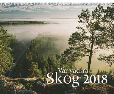 Väggkalender 2018 Vår vackra skog 1