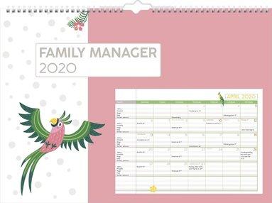 Väggkalender 2020 Family Manager 1