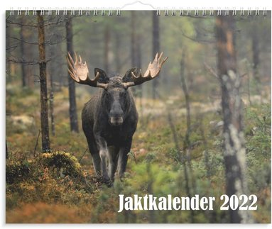 Väggkalender 2022 Jaktkalender