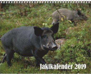 Väggkalender 2019 Jaktkalender 1