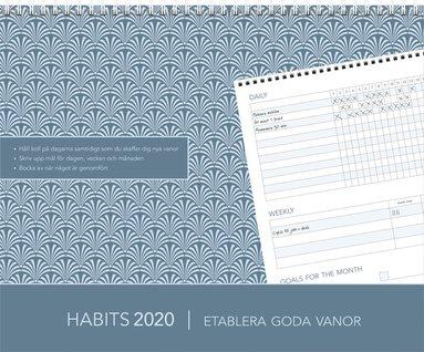 Väggkalender 2020 Habits - Etablera goda vanor 1