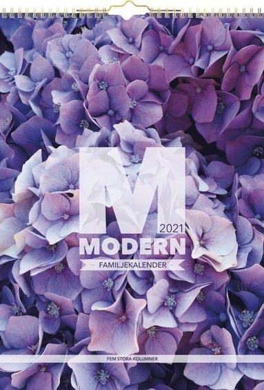 Väggkalender 2021 Familjekalender Modern 1