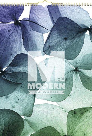 Väggkalender 2019 Familjekalender Modern 1