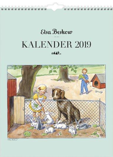Väggkalender 2019 Elsa Beskow 1