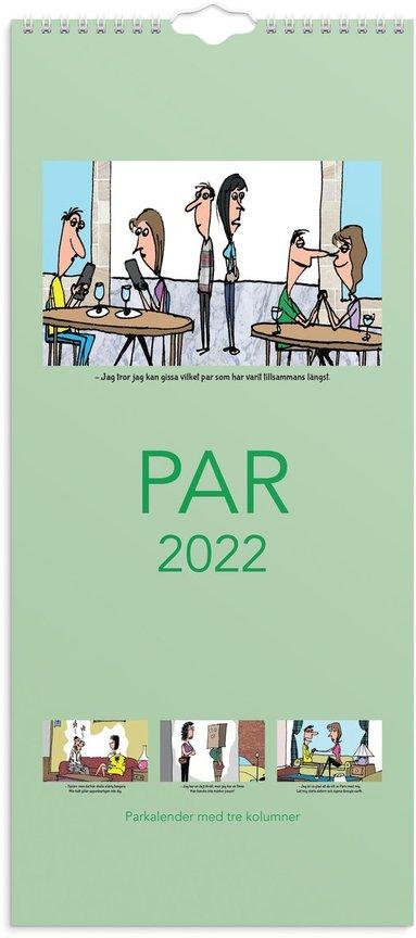 Väggkalender 2022 Parkalendern