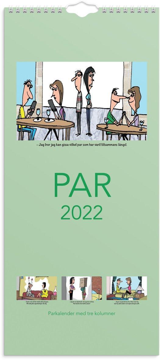 Väggkalender 2022 Parkalendern 1