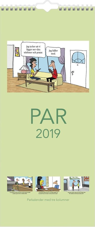 Väggkalender 2019 Parkalendern 1