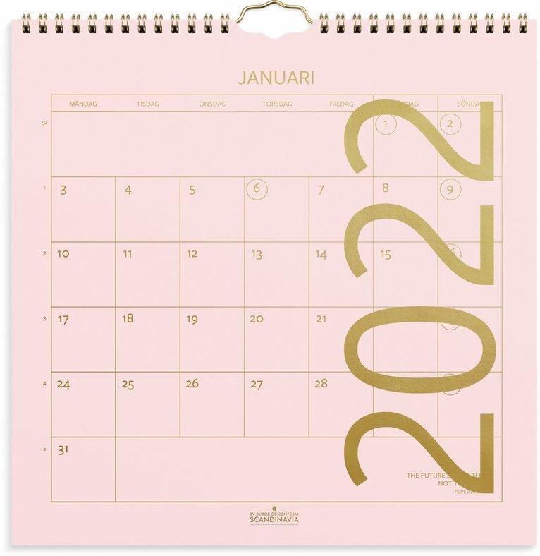 Väggkalender 2022 Color 1