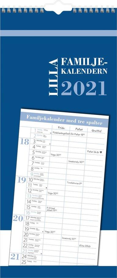 Väggkalender 2021 Lilla Familjekalendern 1