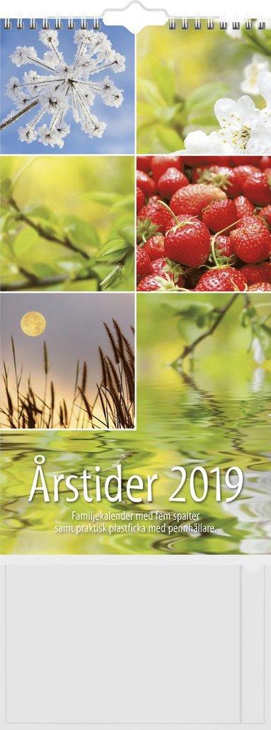 Väggkalender 2019 Familjekalender Årstider 1