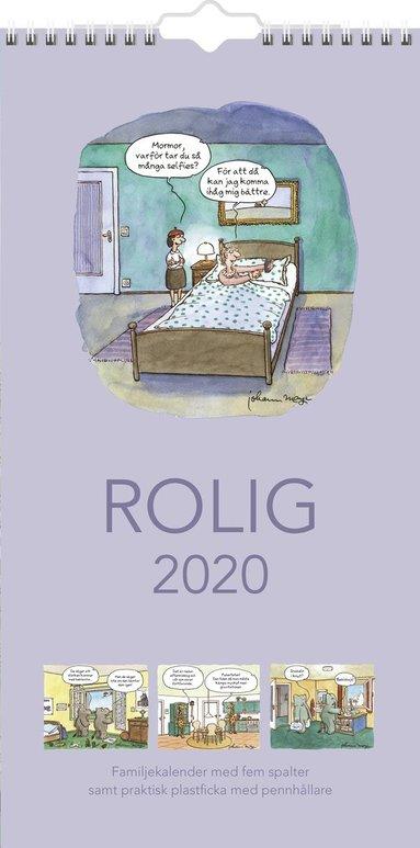 Väggkalender 2020 Familjekalender Rolig 1