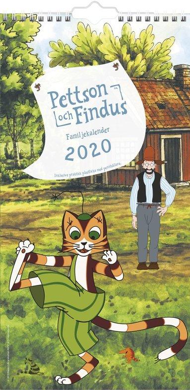 Väggkalender 2020 Familjekalender Pettson & Findus 1