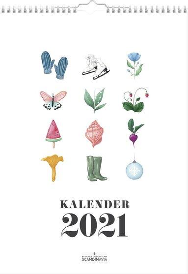 Väggkalender 2021 Annies Årsbilder 1
