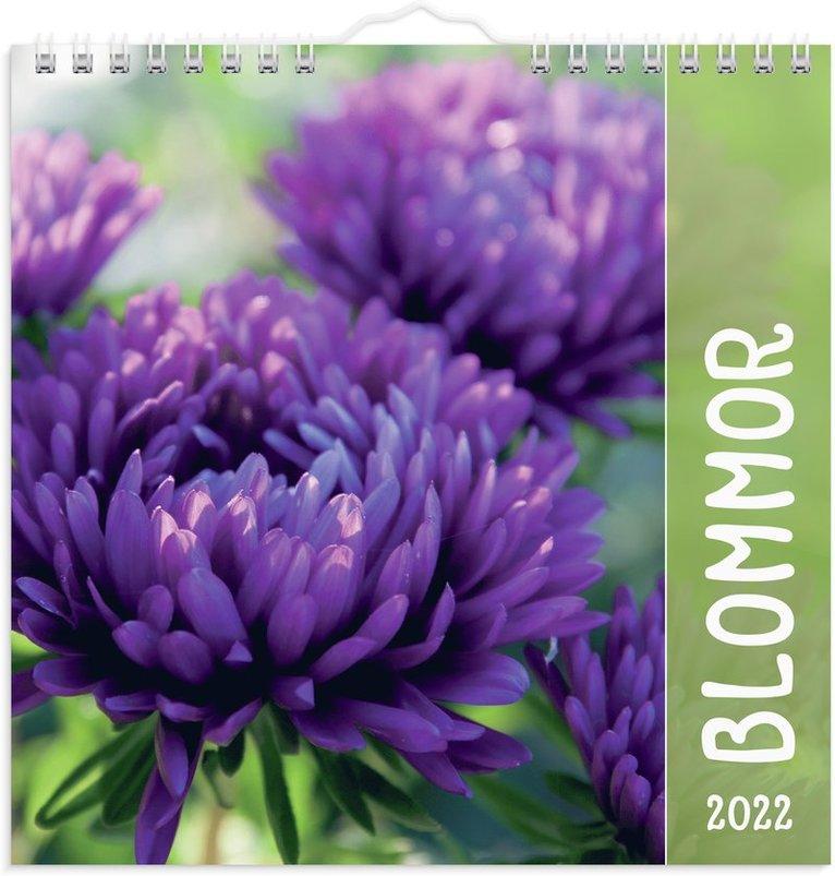 Väggkalender 2022 Blommor 1
