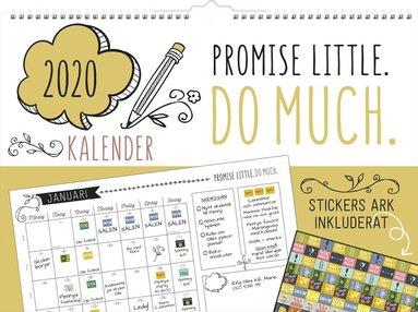 Väggkalender 2020 Doodle 1