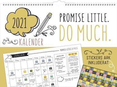 Väggkalender 2021 Doodle 1