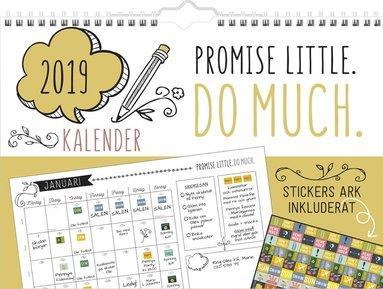Väggkalender 2019 Doodle 1