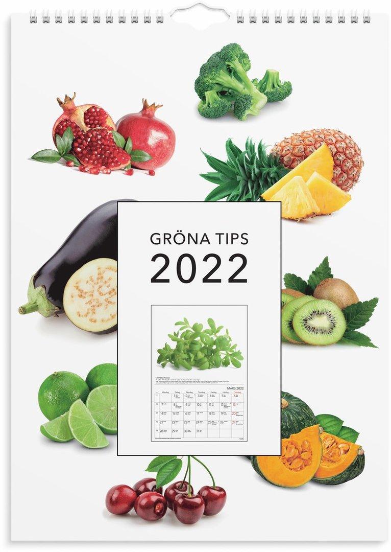 Väggkalender 2022 Gröna tips 1