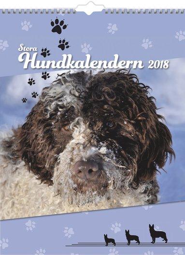 Väggkalender 2018 Stora Hundkalendern 1