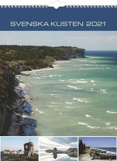 Väggkalender 2021 Svenska kusten 1
