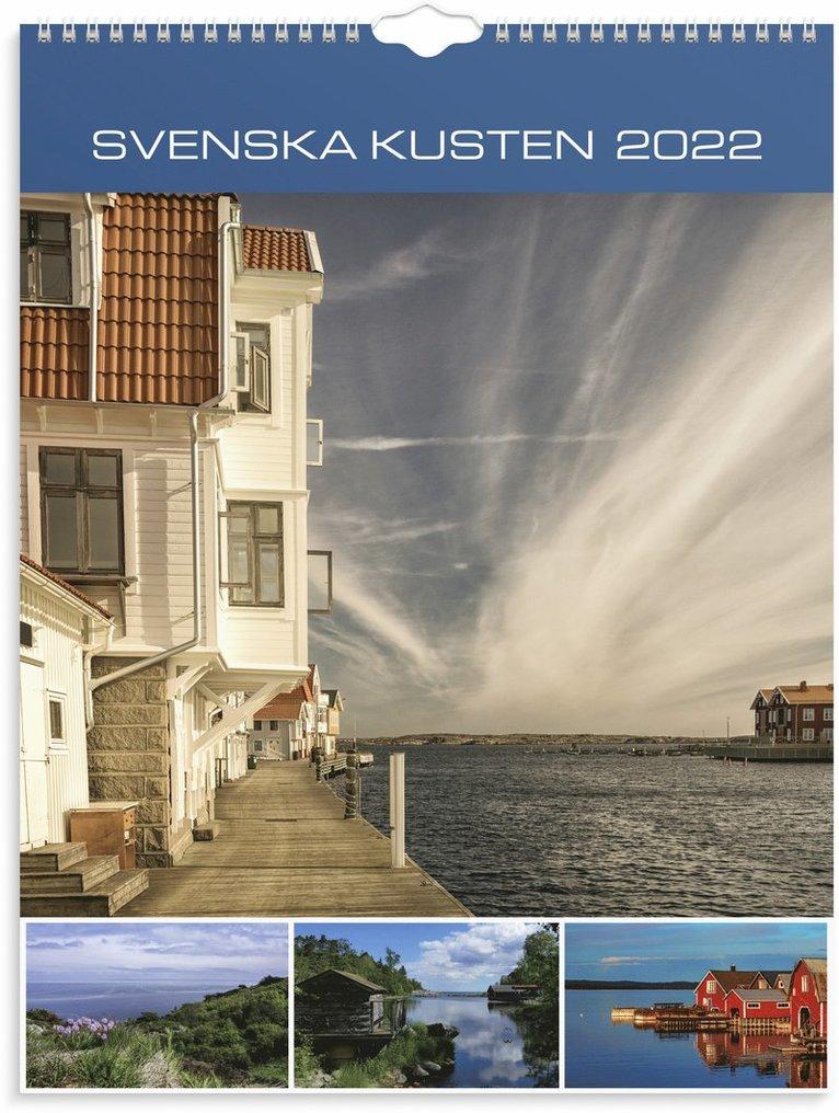 Väggkalender 2022 Svenska kusten 1
