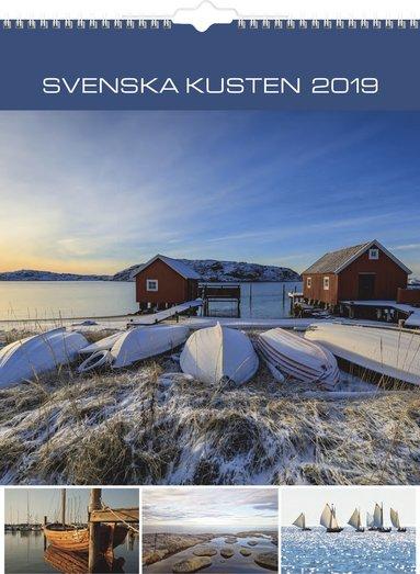 Väggkalender 2019 Svenska kusten 1