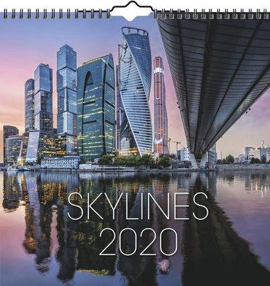 Väggkalender 2020 Skylines 1
