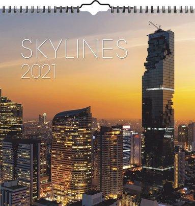 Väggkalender 2021 Skylines 1