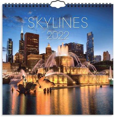 Väggkalender 2022 Skylines