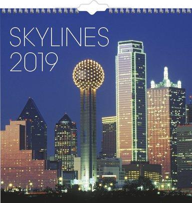 Väggkalender 2019 Skylines 1