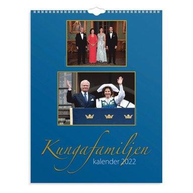 Väggkalender 2022 Kungafamiljen  1