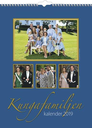 Väggkalender 2019 Kungafamiljen 1