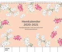 Väggkalender 2020-2021 Hemkalendern