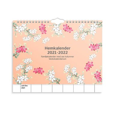 Väggkalender 2021-2022 Hemkalendern 1