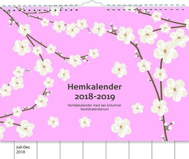 Väggkalender 18-19 Hemkalendern