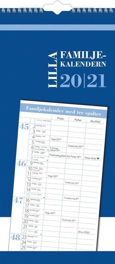 Väggkalender 2020-2021 Lilla Familjekalendern 1
