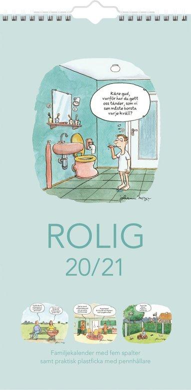 Väggkalender 2020-2021 Familjekalender Rolig 1