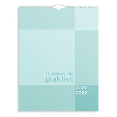 Väggkalender 2021-2022 Praktisk familj 1