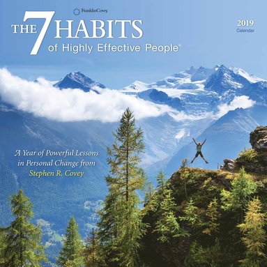 Väggkalender 2019 7 Habits of Highly Effective People 1